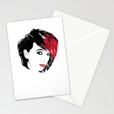 minimal girl 2 Stationery Cards
