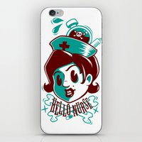Hello nurse! iPhone & iPod Skin