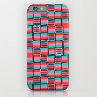 Pixel Pattern iPhone 6 Slim Case