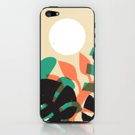 Jungle Sun #1 iPhone & iPod Skin