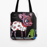 Bambi Has Just Escaped..… Tote Bag