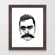 Zapata Framed Art Print