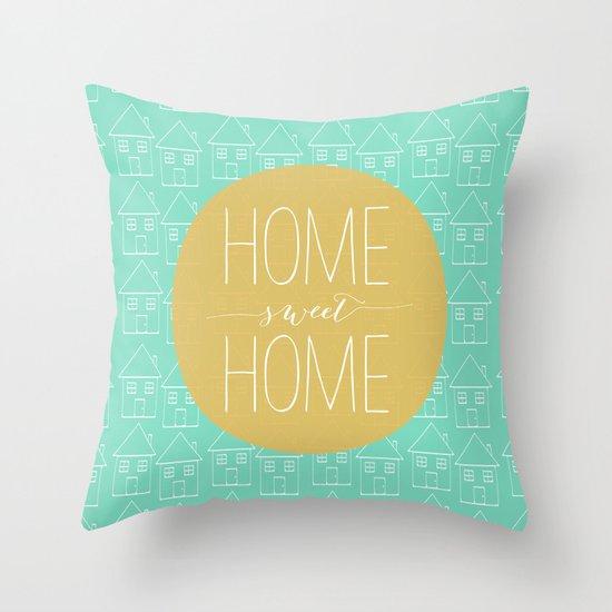 Home sweet home 2 Throw Pillow