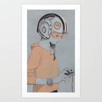 Rebel Art Print