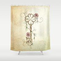 Key Lucky  Shower Curtain