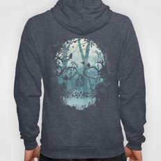 Dark Forest Skull Hoody