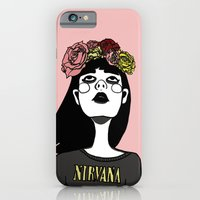 iPhone & iPod Case featuring 90's Revival Girl by shecanliftahorse