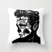 James Dean. Rebel: Zombi… Throw Pillow
