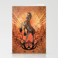 The foal Stationery Cards