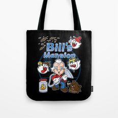 Bill's Mansion Tote Bag