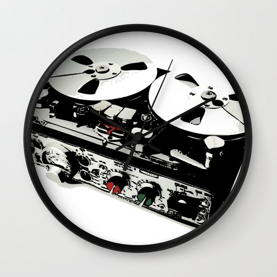 the ultimate tape recorder Wall Clock