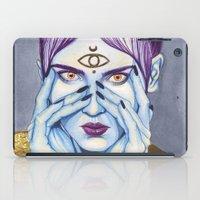 Close Up 8 iPad Case