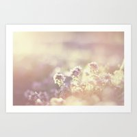 In a blur Art Print