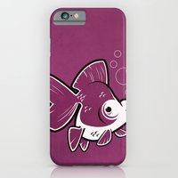 iPhone & iPod Case featuring Moor Goldfish by C Barrett