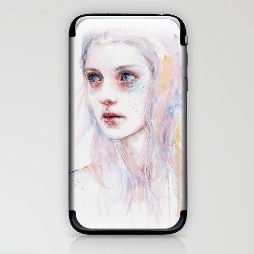 unsaid things iPhone & iPod Skin