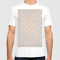 Boxes Mens Fitted Tee White SMALL