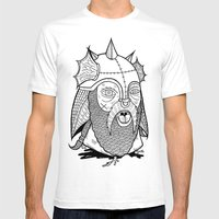 Warrior's Decapitated Head Mens Fitted Tee White SMALL