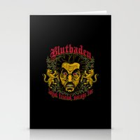 Blutbaden Stationery Cards