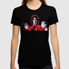 The Rocky Horror Picture Show - Pop Art Womens Fitted Tee Black SMALL
