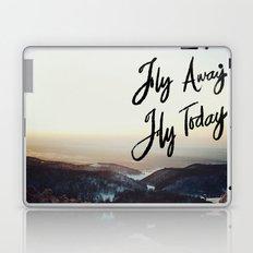 Fly Away Fly Today Laptop & iPad Skin