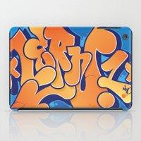 Lern 1 Bubblegum Graffiti NYC iPad Case