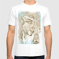 Reflection On  'Second H… Mens Fitted Tee White SMALL