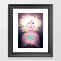 Great Big World Framed Art Print