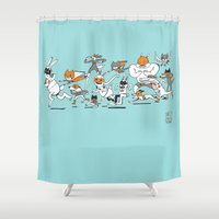 There are Super Heroes Everywhere Shower Curtain