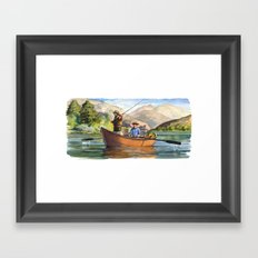 Snake River Framed Art Print