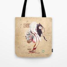 Western Girl profile (1) Tote Bag