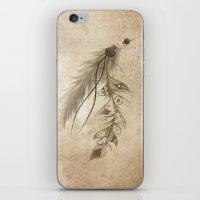 Bohemian Feather iPhone & iPod Skin