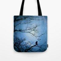 Silent Snow Tote Bag