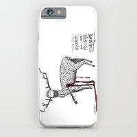 iPhone & iPod Case featuring Vivimos en un peligro constante (We live in a constant danger) by Villaraco