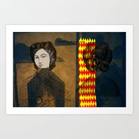 Coiffure For A Young Lad… Art Print