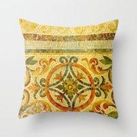 Mosaic Floor 2 Throw Pillow