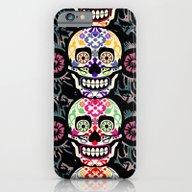 Happy Calaveras iPhone 6 Slim Case