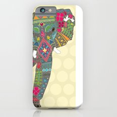 painted elephant straw spot iPhone 6s Slim Case