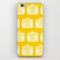 I Still Shoot Film Holga Logo - Reversed Yellow iPhone & iPod Skin