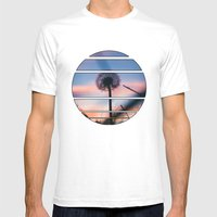 Hollow Sunset Mens Fitted Tee White SMALL