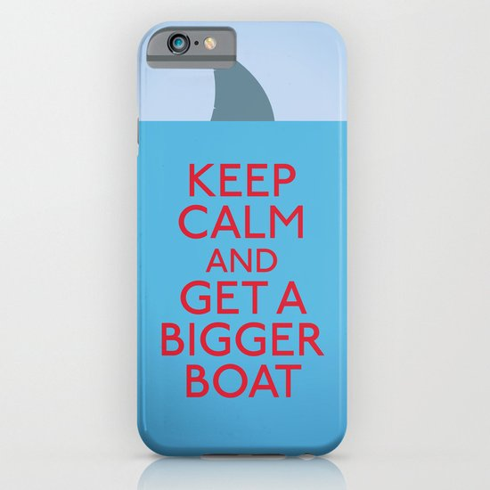 Get a bigger boat iPhone & iPod Case