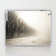 Trees in mist Laptop & iPad Skin