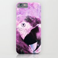 Crazy Parrot iPhone 6 Slim Case