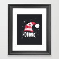 HO HO HO HO Framed Art Print