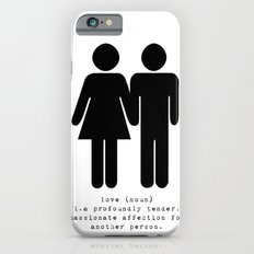 definition of love iPhone 6 Slim Case