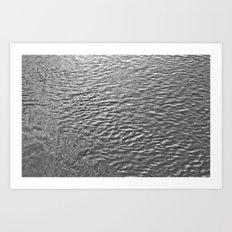 Ambling River Art Print