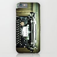 You don't write anymore... iPhone 6 Slim Case