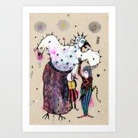 Birdy Mysterium Art Print