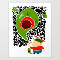 Blow For Kids Art Print