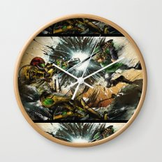 The Battlefield Wall Clock