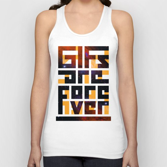 GIFs are forever Unisex Tank Top